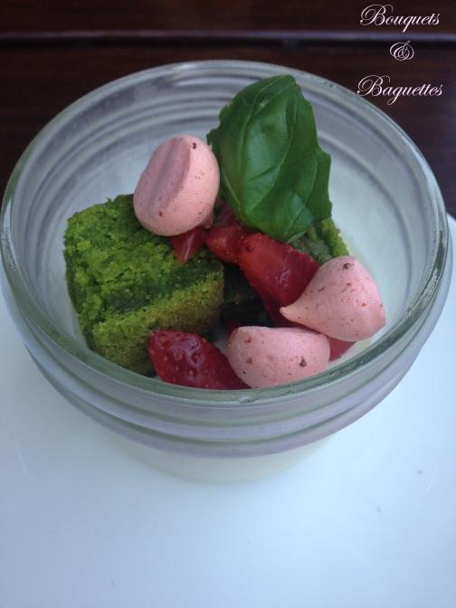 pannacotta & meringue